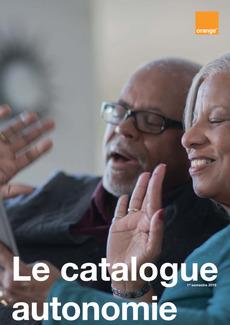 """Couverture - """"Le catalogue autonomie - 1er semestre 2019 - Caraïbe"""""""